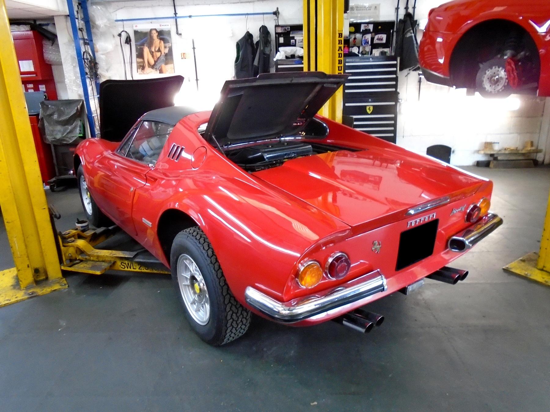 Ferrari Restorations Dino Restoration Specialist Uk Nick Cartwright